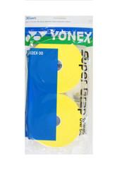 YONEX 30 PACK SUPER GRAP - AC102EX-30 YELLOW