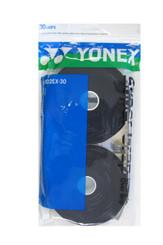YONEX 30 PACK SUPER GRAP - AC102EX-30 BLACK