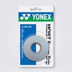 YONEX 3 PACK MOIST SUPER GRAP - AC148EX WHITE