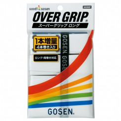 GOSEN SUPER GRIP 4 PACK AC26SP - WHITE - MADE IN JAPAN