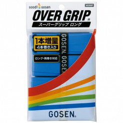 GOSEN SUPER GRIP 4 PACK AC26SP - BLUE - MADE IN JAPAN