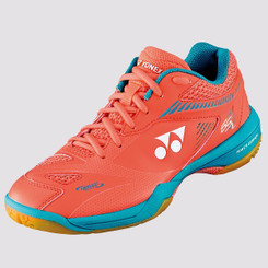 YONEX POWER CUSHION 65Z 2 LADIES - CORAL ORANGE