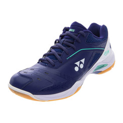 YONEX POWER CUSHION 65Z WIDE LADIES - NAVY/WHITE