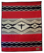 Navajo Water Blanket by Pendleton Woolen Mills.
