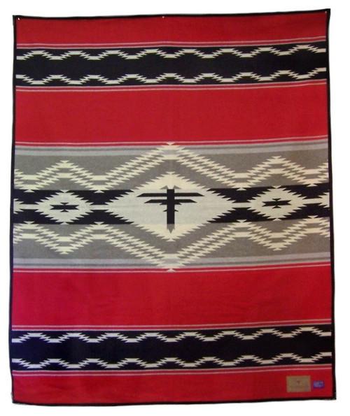 Navajo Water Blanket by Pendleton Woolen Mills.