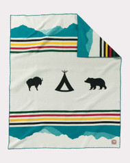 Pendleton Glacier National Park 100th Anniversary Blanket