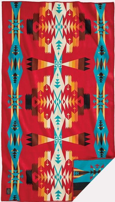 Pendleton Tucson Scarlet Saddle Blanket