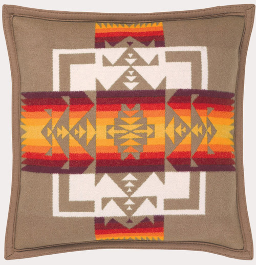 Pendleton Chief Joseph Khaki Decorative Pillow