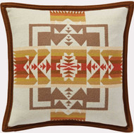 Pendleton Chief Joseph Cream / Wheat Decorative Pillow