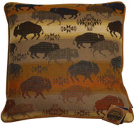 Pendleton Prairie Rush Hour Buffalo Bison Decorative Pillow