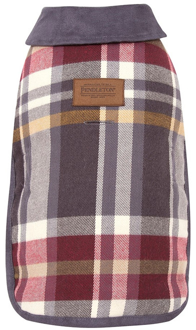 Pendleton Pet Classics Dog Coat in Breslin Plaid
