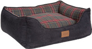 Pendleton Grey Stewart Plaid Kuddler Pet Bed