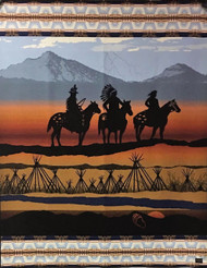 Pendleton Hear Me, My Chiefs Nez Perce Limited Editon Numbered Blanket