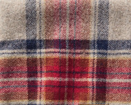 Pendleton Nylon Backed Vintage Dress Stewart Roll-up Blanket