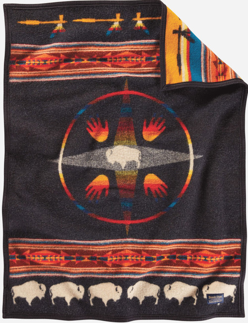 Pendleton Big Medicine Crib Blanket
