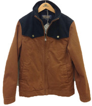 Pendleton Gallatin Canvas Ranch Jacket in Whiskey and Black