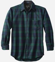 Pendleton Classic Fit Lodge Shirt in Black Watch Tartan