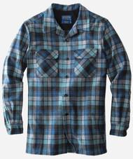 Pendleton Classic Fit Board Shirt in Blue Original Surf Plaid