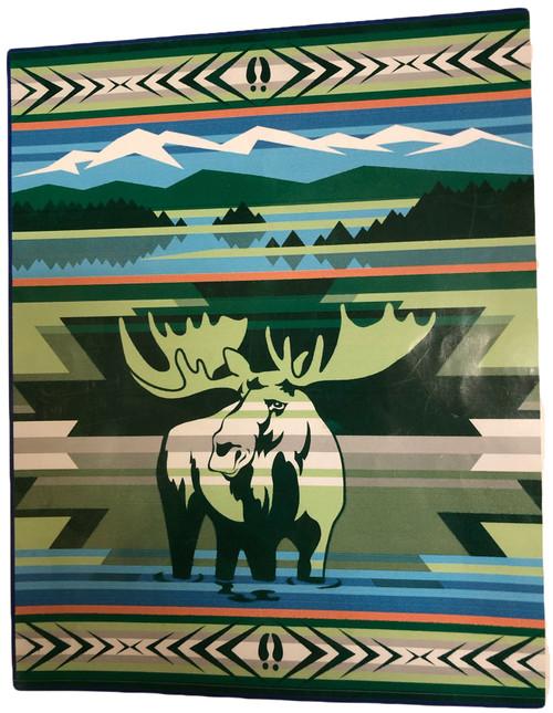 Animals of Yellowstone Series Moose Blanket by Pendleton