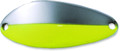 "Acme C100/NCS Little Cleo Spoon, 1 - 7/8"", 1/3 oz, Nickel Chartreuse - C100/NCS"