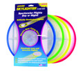 "Aerobie 27R12 Skylighter Disc 12"" - Asst Colors-Yllw/Blu/Grn/Red - 27R12"