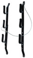 Allen 18520 Three Gun Locking Gun - Rack, Vinyl Coated, Wall or Over - 18520