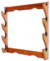 "Allen 18550 Four Gun Wooden Wall - Rack, 24.5""H x 24.5""W x 4.25""D - 18550"
