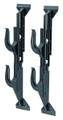 "Allen 17450 Window Mount Two Gun or - Bow Rack, Molded, 9""-13"" Adjustable - 17450"