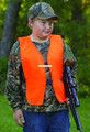 Allen 15751 Orange Vest for Hunters - Youth Blaze Orange - 15751