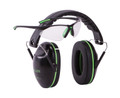 Allen 2325 Gamma Junior Shooting - Muff & Glasses Combo Blk/Neon Green - 2325