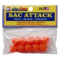 Atlas 41023 Sac Attack Plastic - Cluster Eggs, Orange - 41023