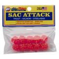 Atlas 41025 Sac Attack Plastic - Cluster Eggs, Pink - 41025