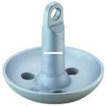 Attwood 9942-1 Mushroom Anchor 10Lb - Sil Ptd - 9942-1