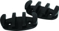 "Attwood 11926-7 Zip Zag Rope Cleat - 3-1/2"" Black Nylon-Pr - 11926-7"
