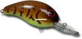 """Bandit BDT141 100 Series Crankbait - 2"""", 1/4 oz, Crawfish/Chartreuse - BDT141"""