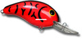 "Bandit BDT138 100 Series Crankbait - 2"", 1/4 oz, Red Crawfish, Floating - BDT138"