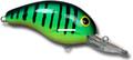"""Bandit BDT120 100 Series Crankbait - 2"""", 1/4 oz, Firetiger, Floating - BDT120"""