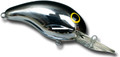 "Bandit BDT131 100 Series Crankbait - 2"", 1/4 oz, Chrome/Blackback - BDT131"