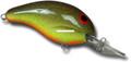 """Bandit BDT1A28 100 Series Crankbait - 2"""", 1/4 oz, Chartreuse Rootbeer - BDT1A28"""