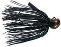 Bass Patrol BPJ1401 Western - Football Jighead, 1/4 oz, Brown - BPJ1401