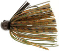 Bass Patrol BPJ1433 Western - Football Jighead, 1/4 oz, Brown - BPJ1433