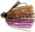 Bass Patrol BPJ1231 Western - Football Jighead, 1/2 oz, Brown - BPJ1231