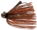 Bass Patrol BPJ1232 Western - Football Jighead, 1/2 oz, Brown - BPJ1232
