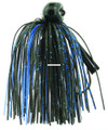 Bass Patrol BPJ1437 Western - Football Jighead, 1/4 oz, Black & - BPJ1437