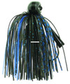 Bass Patrol BPJ1237 Western - Football Jighead, 1/2 oz, Black & - BPJ1237