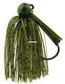 Bass Patrol BPJ1238 Western - Football Jighead, 1/2 oz, Green - BPJ1238