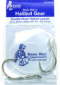 Beau-Mac HLDM78 Halibut Ldr 80Lb - Snld Mono Hooks 7/0-8/0 - HLDM78