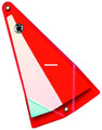 "Big Als 1011-ROR/PL Large Fish - Flash In-Line Flasher 10"", BMK H&H - 1011-ROR/PL"