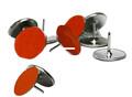 Big Game TM010 Reflective Orange - Trail Marking Tacks, 50 Pack - TM010