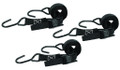 "Big Game TA025-3 Cam-Buckle Strap - 1""W x 8' Long, 400 Lb Limit, 3Pk - TA025-3"